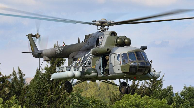 Vrtulníky Mi-17 a Mi-171Š dostanou moderní palubní jeřáby Breeze-Eastern