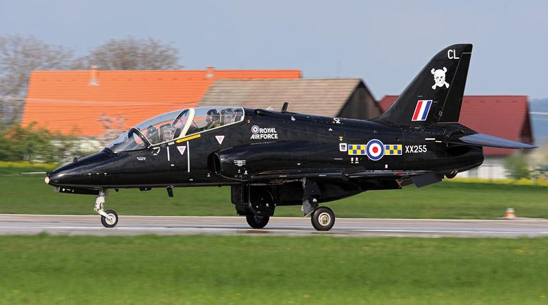 V Čáslavi začalo česko-britské letecké cvičení Central Hawk 2018