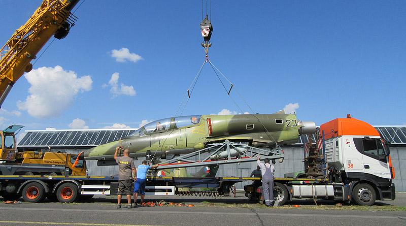 """Letecké muzeum v Kunovicích získalo do své expozice letoun L-39ZA Albatros """"2347"""""""