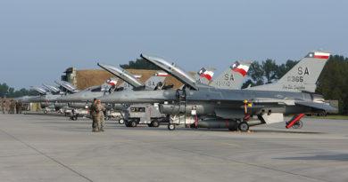 Pistolníci osamělé hvězdy poprvé na čáslavském nebi – cvičení Squadron Exchange 2009