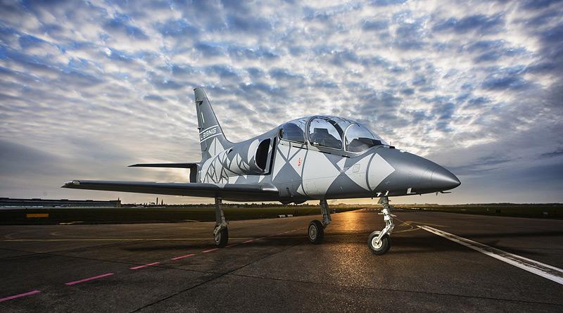 Slavnostní roll-out nového letounu L-39NG, který získá i pardubické Centrum leteckého výcviku
