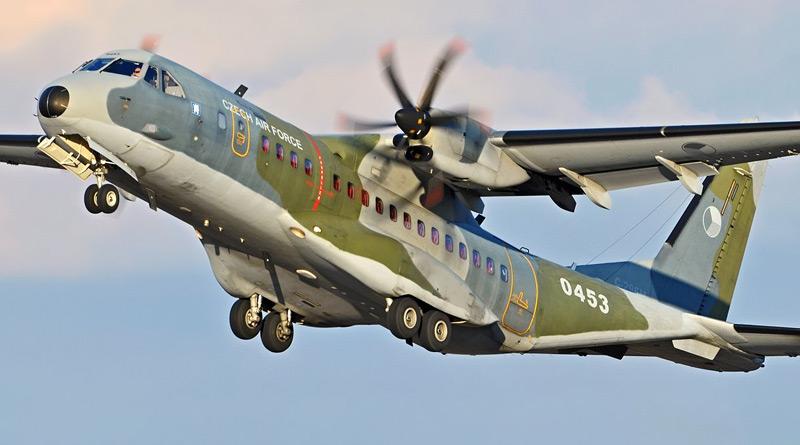 Armáda získá od španělského výrobce dva nové transportní stroje CASA C-295W