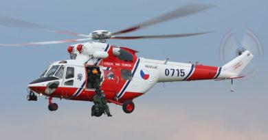 Armáda zmodernizuje šest vrtulníků W-3A Sokol zástavbou zařízení Enhanced Vision System