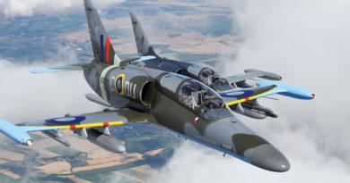Čáslavští piloti display dvojice L-159 získali prestižní ocenění na airshow v anglickém Cosfordu