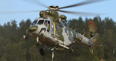 Ve francouzských Pyrenejích začíná cvičení Mountain Flight 2019 poprvé i s vrtulníky W-3A Sokol