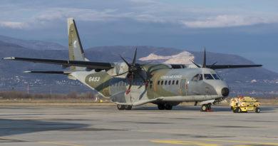 Do Bulharska odlétla CASA C-295M na další výcvikový kurz transportního letectva ETAP-C