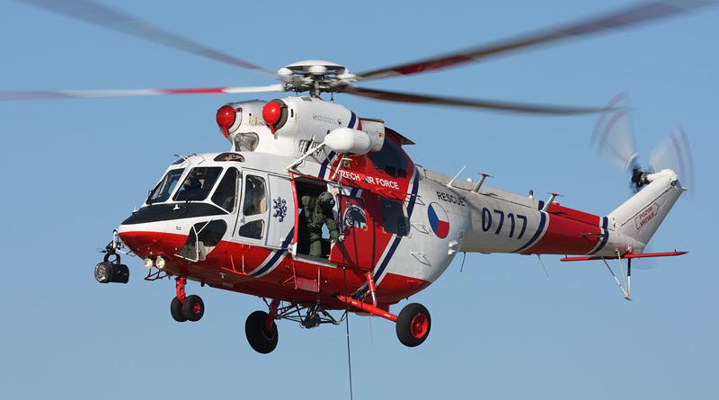 Vrtulníky W-3A Sokol uvidí díky zařízení Enhanced Vision System i v mlze