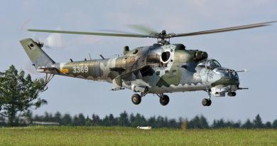 Začalo mezinárodní cvičení vrtulníkářů  DARK BLADE 2019