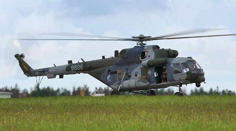 Unikátní zástavba kulometu FN MAG ve vrtulnících Mi-17/171