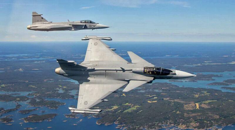 První Gripen E přemístěn na leteckou základnu Malmen