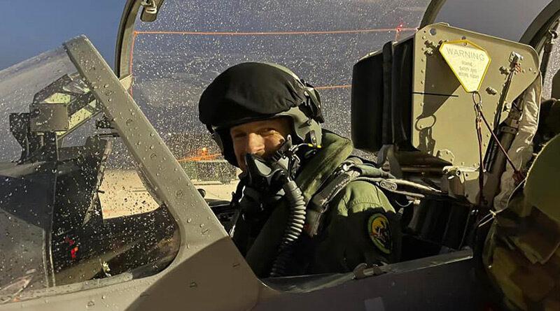 S létáním na L-159 se loučil jeden z čáslavských pilotů