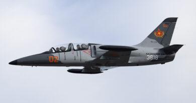 Vzdušné síly Kazachstánu převzaly první dva modernizované L-39C