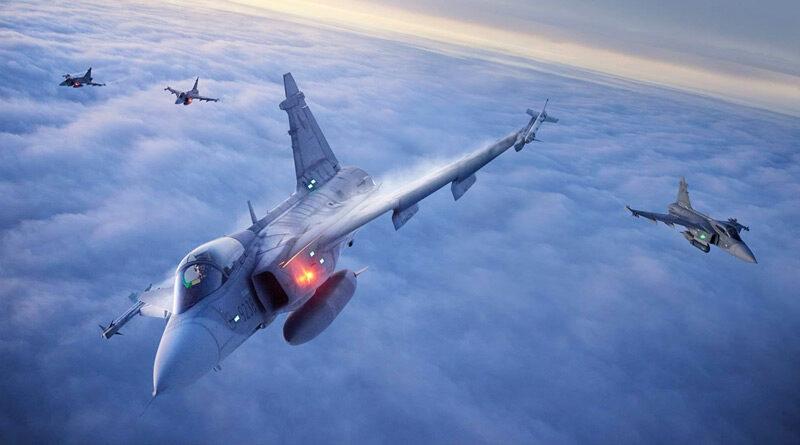 Squadron Exchange s rakouskými EF2000 tak trochu jinak